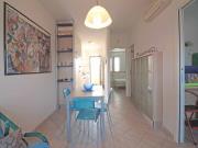 APPARTAMENTO A SENIGALLIA: Lungomare di Levante,  primo piano, composta da soggiorno/cucina, camera, cameretta e bagno + ampio terrazzo coperto vista mare, posto auto coperto e cantina.