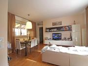 VILLETTA A SENIGALLIA: Cesano, mq. 100 (soggiorno/cucina, 3 camere, 2 bagni) + taverna mq. 100 (cucina, camera, bagno) + ampio terrazzo, giardino mq. 200 e mq. 40 garage - COSTRUZIONE 2008