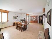 APPARTAMENTO A SENIGALLIA: Zona artigianale, ingresso indipendente di mq. 200 (salone, cucina, 4 camere, 2 bagni) + mq. 100 terrazzi, mq. 110 garage + mq. 200 corte esclusiva