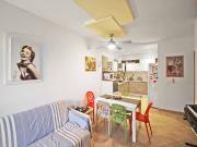 APPARTAMENTO A SENIGALLIA: Cesano, a m. 50 dal mare, ingresso indipendente di mq. 63 (soggiorno/cucina, 2 camere, bagno) + balconi, solarium, corte esclusiva e posto auto, costruzione 2008 -